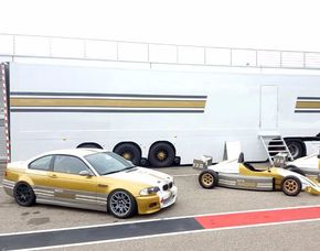 Tourenwagen fahren - 6 Runden - Sachsenring BMW M3 Rennauto - Sachsenring - 6 Runden