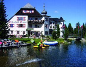 Kurzurlaub inkl. 80 Euro Leistungsgutschein - Schlosshotel Seewirt - Turracher Höhe Schlosshotel Seewirt