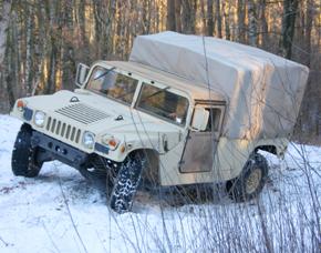 Hummer H1 offroad fahren - 30 Minuten Hummer H1 - 30 Minuten