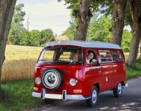 VW Bulli Tour mit Übernachtung VW Bulli T2 1969 – 2 Tage
