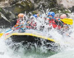Rafting - Lofer Saalach - ca. 3 Stunden