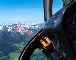 Hubschrauber fliegen Kempten Durach