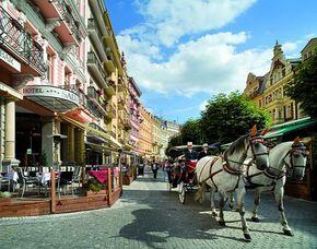 Kurzurlaub inkl. teilweise Leistungsgutschein - Hotel Salvator - Karlovy Vary / Karlsbad Hotel Salvator