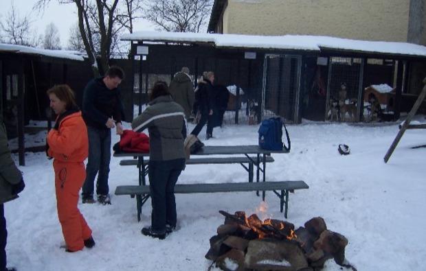 schlittenhunde-workshop-markt-bibart-feuerstelle