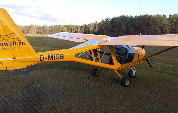flugzeug-selber-fliegen-amberg-maschine