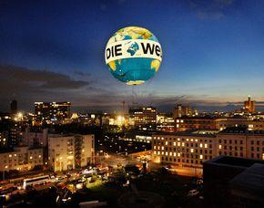 Exklusiver Aufstieg im Weltballon - Hochzeits-Rundflug Exklusivcharter des Weltballons - 15 Minuten