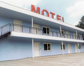 """Übernachtung im 50's ville Motel 1 ÜN, 2 Pers im ,,50's ville Motel"""""""