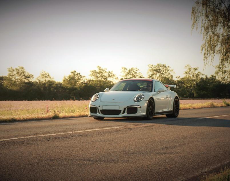 Porsche 911 GT3 - 60 Minuten Porsche 911 GT3 - 60 Minuten - 40 km