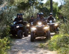 Quad Offroad Tour mit Beifahrer auf Mallorca - Cala Millor Quad Offroad Tour mit Beifahrer auf Mallorca - 3 Stunden