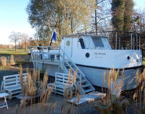 Hausboot Übernachtung Paal