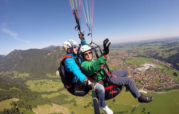 gleitschirm-tandemflug-pfronten-landung