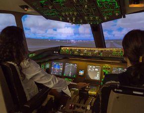 Flightsimulator – 30 Minuten - Zürich Boeing 777 - 30 Minuten