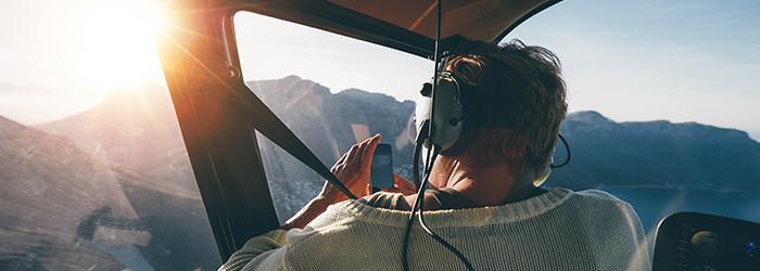Hubschrauber-Privatrundflug