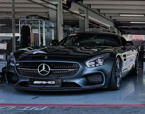 AMG GT-S - 4 Runden - Spreewaldring Training Center - Schönwald Mercedes AMG GT-S - 4 Runden - Spreewaldring Training Center
