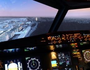 A320 Simulator 4D - 2 Simulatoren 75 Minuten Airbus A320 - 105 Minuten