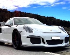Porsche 911 GT3 RS - 3 Stunden Raum St Gallen Porsche 911 GT3 RS - 3 Stunden