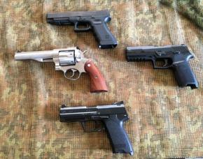 Sportschützentraining Pistole & Revolver Ulm Sportschützentraining Pistole & Revolver - 2 Stunden