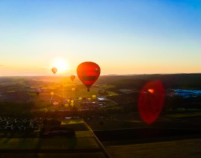 Ballonfahrt - Oerlinghausen 3 - 4 Stunden