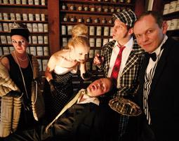 Krimidinner - Das Original - Bayreuth, Schlossgaststätte Eremitage Schlossgaststätte Eremitage - 4-Gänge-Menü