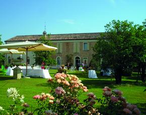 Kurzurlaub inkl. 60 Euro Leistungsgutschein - Relais Villa Roncuzzi - Russi nahe Ravenna Relais Villa Roncuzzi