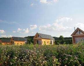 Kurzurlaub Holz-Chalet im Hainich für 2 Holz-Chalet - Inkl. täglichen frischen Brötchen