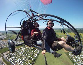 Motorgleitschirm-Rundflug - 60 Minuten 60 Minuten