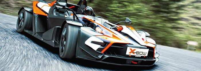 KTM X-Bow Rennen