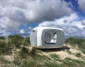 Außergewöhnlich Übernachten im sleeperoo Cube - 1 ÜN (Preis A - Mo-Do) - Wangerland im sleeperoo Cube - inklusive Chillbox - Schillig Strand