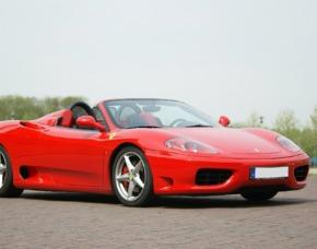 Ferrari F360 Spider selber fahren (30 min) - Steinau Ferrari F 360 Spider - 30 Minuten