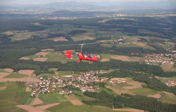 tragschrauber-selber-fliegen-weiden-oberpfalz-maschine