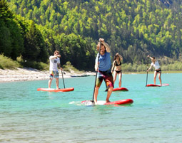 SUP-Touren Lenggries