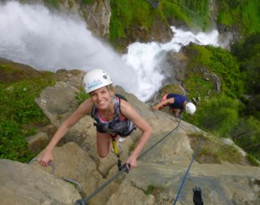 Klettersteig leicht - ca. 4 Stunden - Sautens Einsteigerkurs Tirol - 4 Stunden