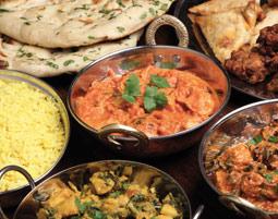 Indische Küche - Senden Mehr-Gänge-Menü, inkl. Getränke