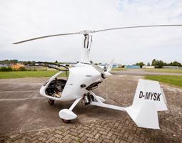 Tragschrauber-Rundflug - 60 Minuten in einem geschlossenen Tragschrauber - 60 Minuten