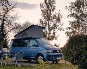 Außergewöhnliches Übernachten im Camper Berlin- Glienicke (5 Tage) Im Bulli - inkl. 900 Freikilometer