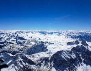 Rundflug Ultraleichtflugzeug 120 Minuten Alpen bis Zell am See 120 Minuten