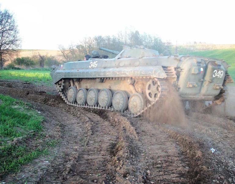 Panzerfahren Schützenpanzer BMP1 - Sanitz Schützenpanzer BMP1 - 35 Minuten