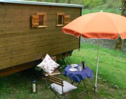 Kurzurlaub im Bienenwagen
