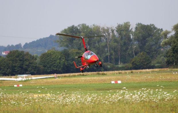 tragschrauber-rundflug-wetterau-landung