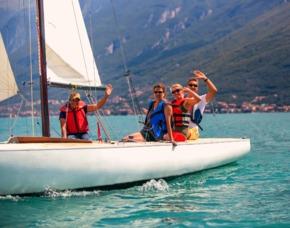 Segel Panorama Tour Gardasee für 2 Segeltörn - Gardasee - ca. 2 Stunden
