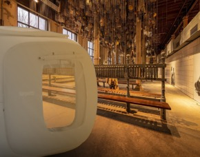 Außergewöhnlich Übernachten im sleeperoo Cube - 1 ÜN (Preis A - Fr/So) - Alsdorf im sleeperoo Cube - inklusive Chillbox - Energeticon