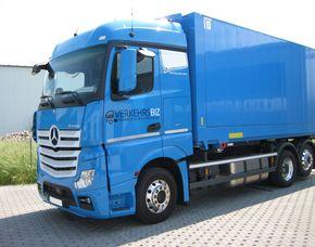LKW selber fahren - Jülich Mercedes Actros MP4 Gliederzug – 75 Minuten