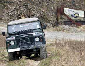Geländewagen offroad fahren Künzelsau