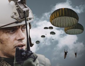 Fallschirm-Kurs – MFTS Basiskurs – TETRA Funkausbildung Militär-Fallschirmspringer-Basiskurs mit automatisierter Fallschirmöffnung und TETRA Funkausbildung