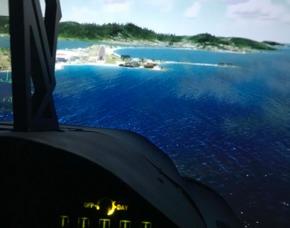 3D-Flugsimulator Schkeuditz