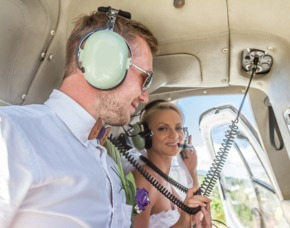 Hochzeits Rundflug Straubing