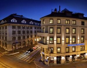 Kurzurlaub Fleming´s Hotel Zürich - 2-Gänge-Menü, Zürich-Pass