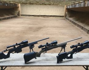 Schießtraining mit Präzisionsgewehr auf 300 Meter-Philippsburg Schießtraining mit Scharfschützengewehren - 2,5 Stunden