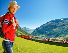Erlebnisse-Geschenkideen: Bahnreisen Chur