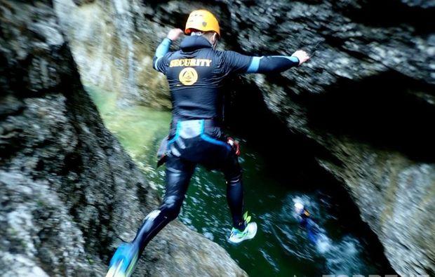 canyoning-strubklamm-golling-an-der-salzach-action